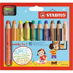 Crayons couleur Stabilo...