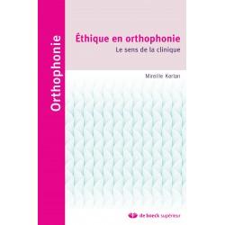 Éthique en orthophonie